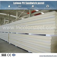 Environment protection cheap price pu polyurethane sandwich roof or wall panel