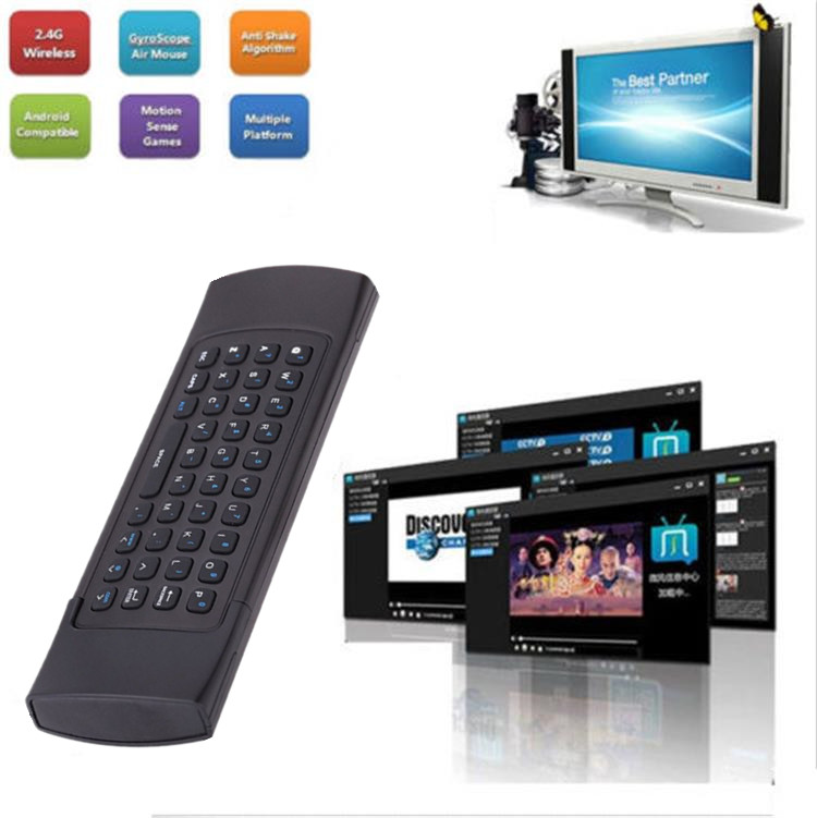 Exceptional T3 2.4GHz Wireless Remote Control and keyboard 2.4g wireless keyboard