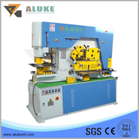 Q35Y serials Hydraulic Iron Worker, Punching and cutting Machine, plate cutting and bending machine