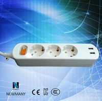 Newmany Fire Proof 13amp Switching Socket with USB Port Custom Outlet & Pin