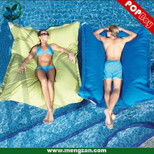 Pool floating Bean bag cushion, Water&Stain resistant polyeser, open air pool float beanbag