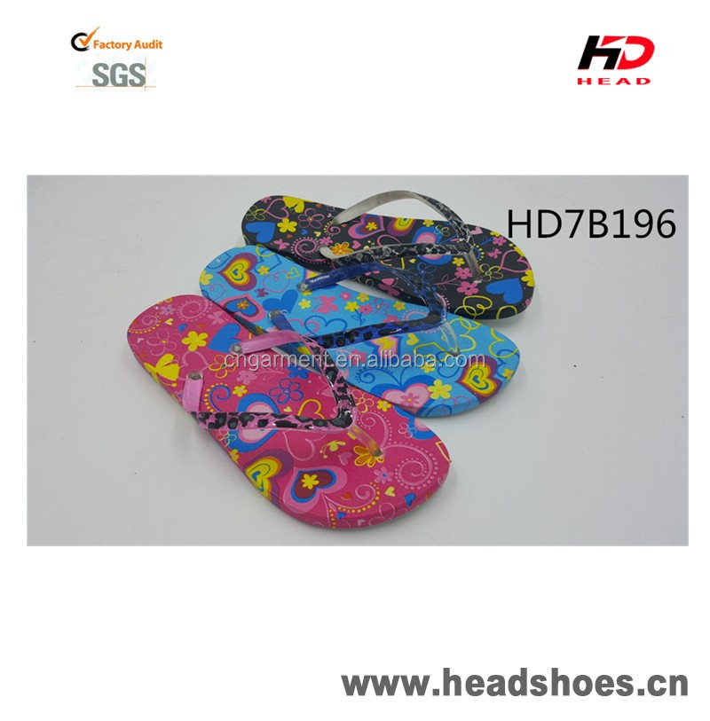 Hot selling cosy PCU PVC comfortable bright gorgeous nice fashion newest model women flip flops