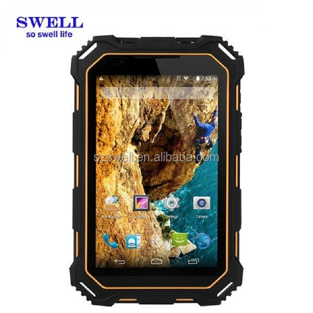 7 inch rugged tablet ip68 rugged tablet MTK Android 5.1 4G LTE S933L Rugged Tablet pc