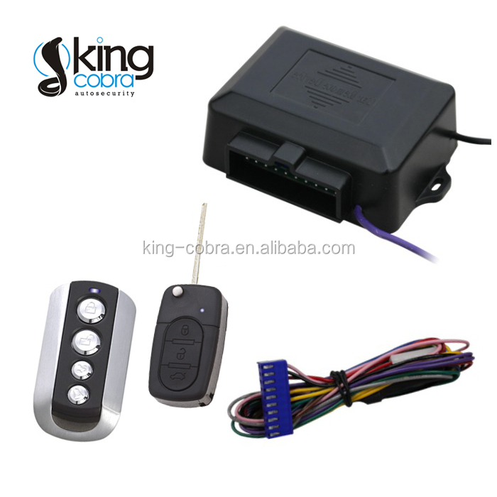 Car Passive remote keyless entry system With Trunk Release/Power window closer/lock/unlock