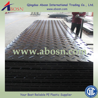 High quality Anti-slip aircraft road mat/HDPE Ground protection mat for crane