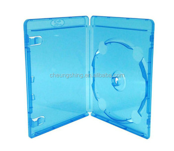 Good quality dvd case for movie made in China 14mm blu-ray pp dvd box/case