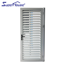 China supplier high quality white hinged louver door