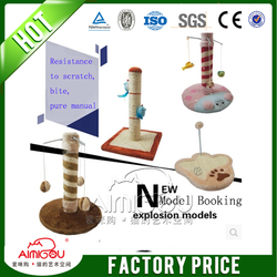 15 years factory Alibaba China Manufacture Pet Products Wholesale Cat Tree Scratching Post