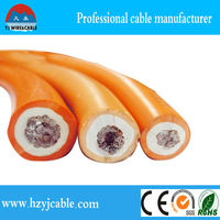 Low Voltage 50mm2 Copper Core Rubber Cable, 70mm2 Welding Cable, Factory Price