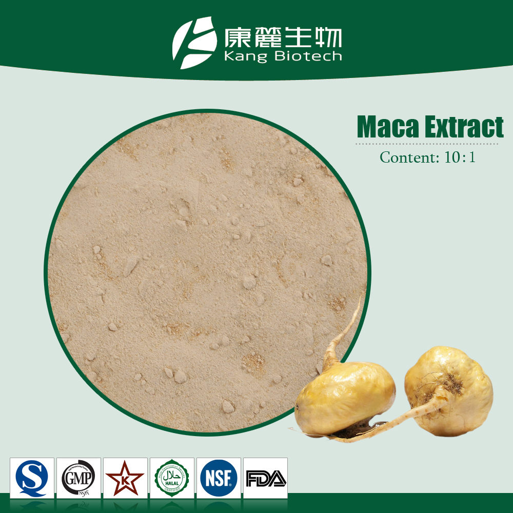 Factory 100% organic Maca root extract Powder, free sample natural sex product maca powder