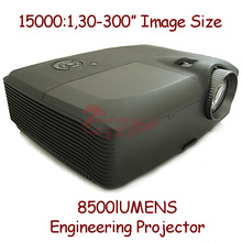 New 2014 High Brightness Projector Full Hd 8500 Lumens Outdoor Advertising Video Use for Big Cinema Large Scale By Salange