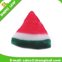 watermelon shape customized PVC rubber usb