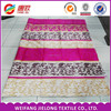 cotton bedsheet printed fabric design for home textile in weifang