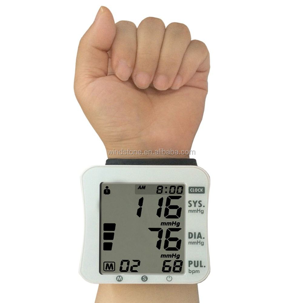 2016 Hot Sales Digital Wrist Blood Pressure Monitor Factory Price Most popular