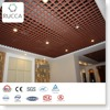 WPC Wood Plastic Composite Interior Artistic Decorative Grid Ceiling