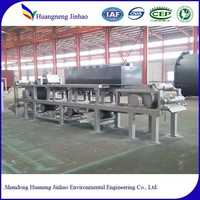 Automatic filter press for mini waste water treatment plant