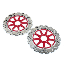 Floating wave motorcycle brake disc assembly rotor for ducati monster