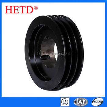 HETD V Belt Pulleys SPB160-3 for 2517 taper bushings transmission parts