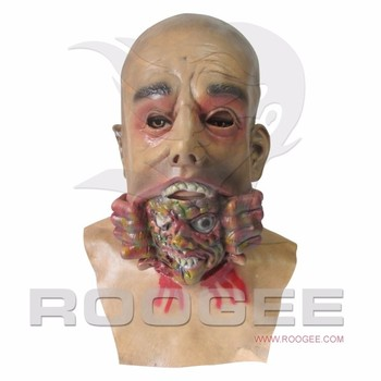 Halloween Creepy Let Me Out Full Head Mask Masquerade Party Cosplay Halloween Latex Mask