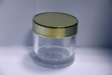 50ml Clear Cosmetic Cream Jar