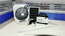 JCN newest power system F101 mini solar power station with PM3 and SD card speaker