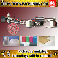 Good price pe square net extruder plastic machine