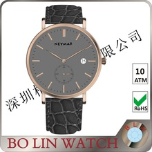 Plating rose golden bezel custom design automatic wrist watches mens watch top brand luxury