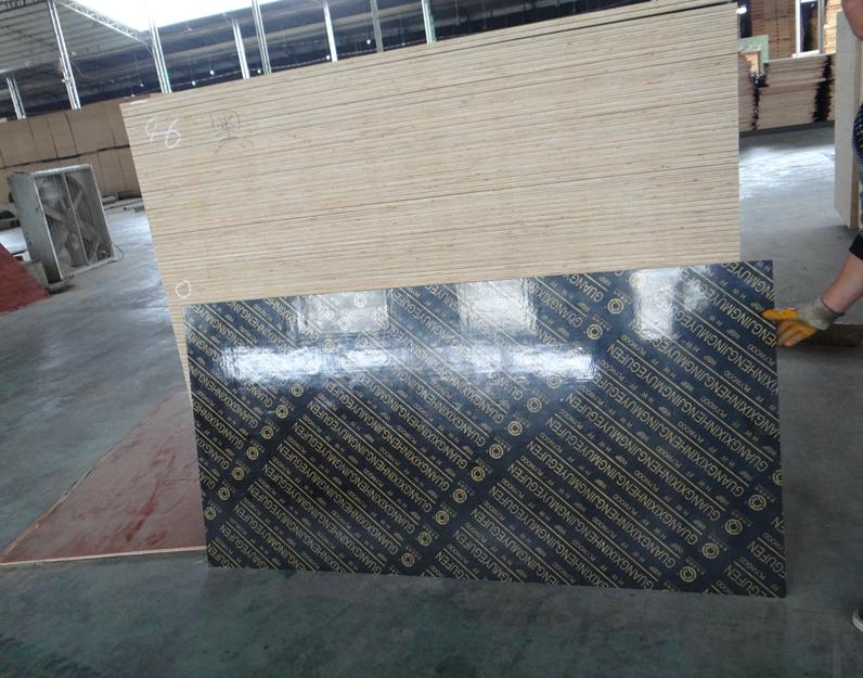 furniture grade melamine ash laminated plywood sheet