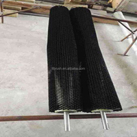 black nylon brush roller for cleaning glass