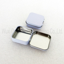Hinged lid rectangular mini mint tin box