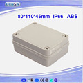 Hot Sell Waterproof Hinged Plastic Box ABS Price DS-AG-0811-S (80*110*45)