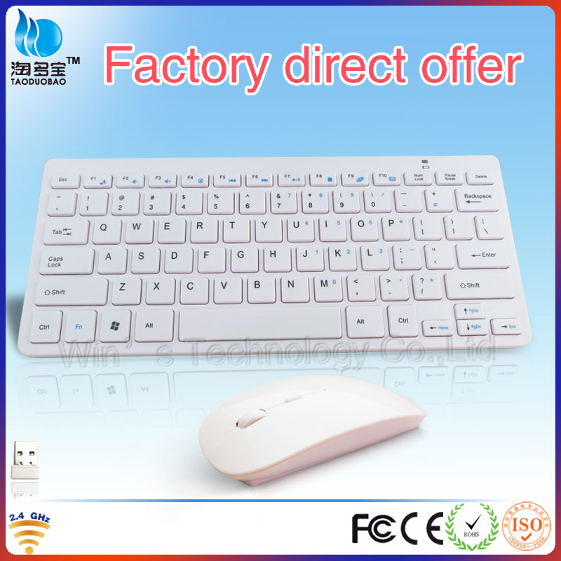 VWT-04 cute wireless gaming mouse and keyboard for desktop