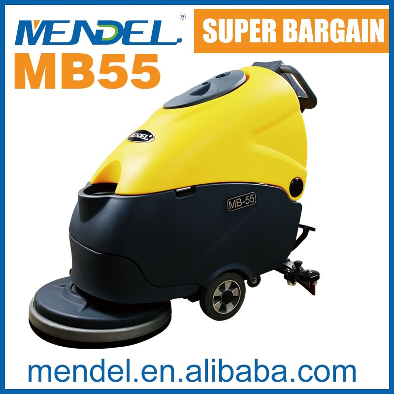 Mendel MB55 High Quality Floor Cleaning Machine Wet And Dry Battery Floor Scrubber