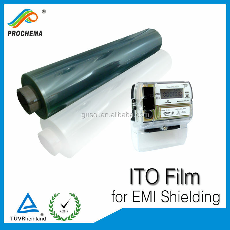 10 years factory price window shielding indium tin oxide ito pet film