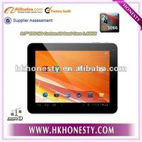 9.7 inch WiFi HDMI Two Cameras RK3306 Dual Core Tablet