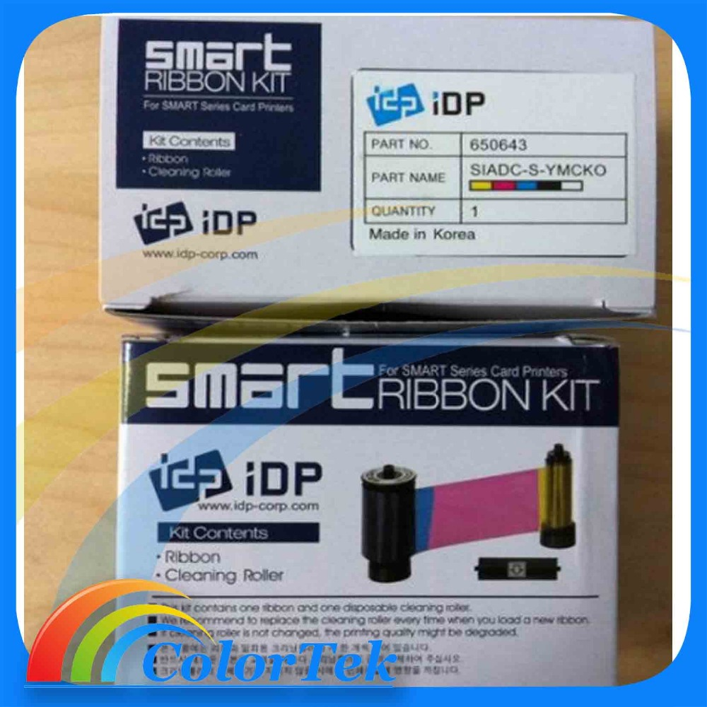 Korea IDP Smart YMCKO Color Ribbon 650643 for Smart 30/50 Printers