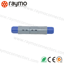 indoor plastic circular connector PRG 6pins for test and measurement device
