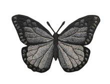 Customized Embroidery Butterfly Patch for Applique