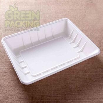 Various sizes sugarcane pulp rectangle disposable plates & Various sizes sugarcane pulp rectangle disposable plates View ...