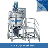 ALW-S automatic industrial liquid mixer with heater