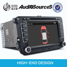 High quality totally same as original VW RNS510 car radio with gps for golf/jetta/tiguan/passat