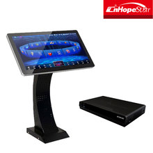 Desktop folding KTV karaoke 19 21.5 22 27 inch ir touch screen lcd monitor