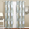 New design wholesale luxury ready made fabric window curtain