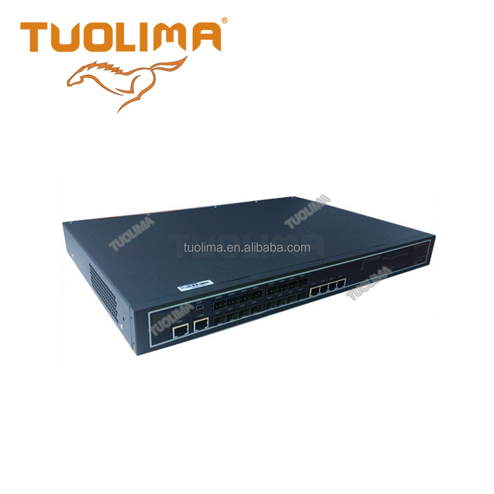 China Factory network GEPON 4 PON outputs OLT web management