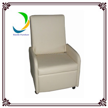 Classic leather folding home theatre recliner chair