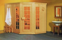Monalisa traditional sauna with Finland wood M-6001