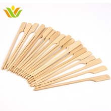 Disposable BBQ Teppo Bamboo Stick Skewer with custom logo