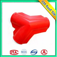 Custom Made Light Weight Pvc Synthetic Spanish Roof Tile