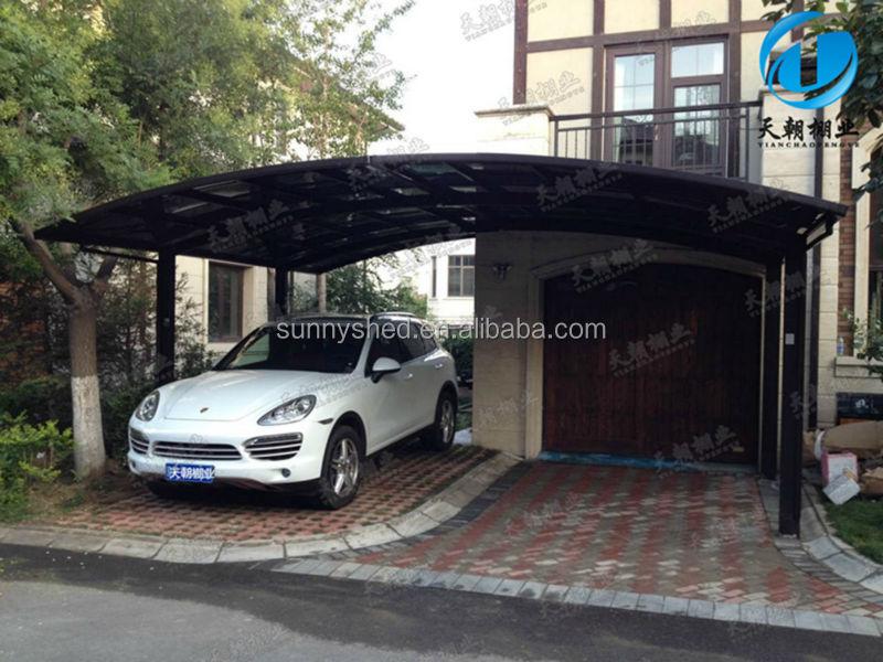 Aluminum Car Canopy : Aluminum double carport car canopy buy