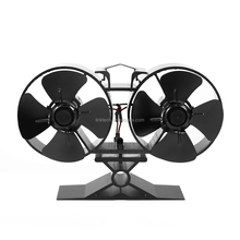 Wood Burner Ecofan No Running Cost Heat Powered Stove Fan For Wood/Gas/Pellet Stove With Large Airflow